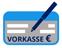 Überweisung per Vorkasse Logo